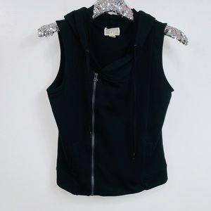 Converse One Star Black Asymmetrical Zip Jacket